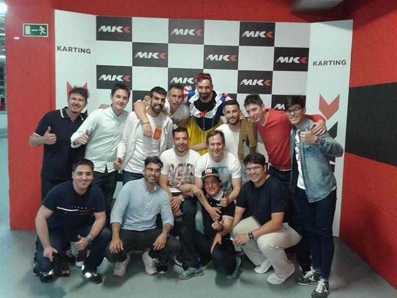 Despedidas de soltero karting Valladolid