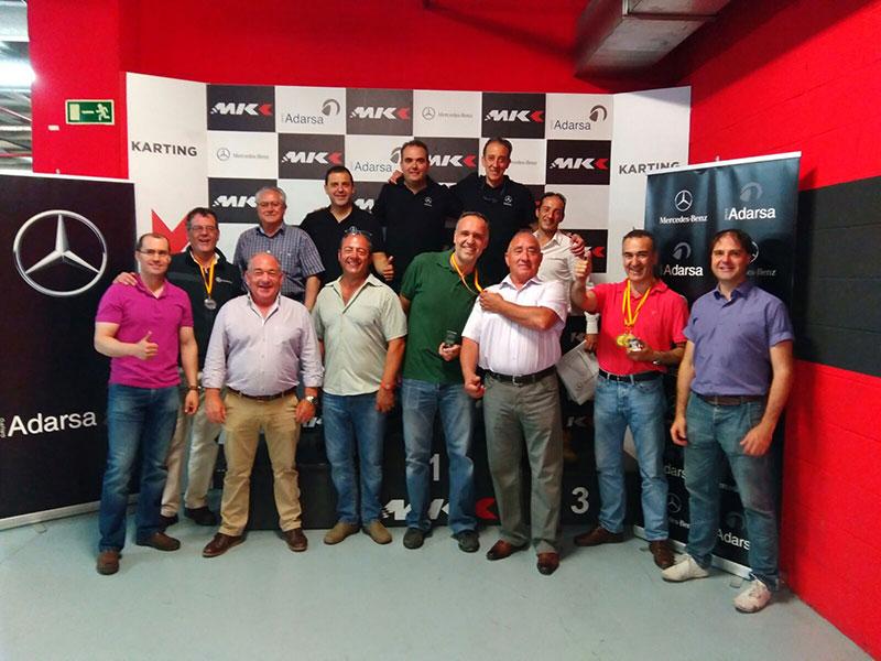 grupo adarsa meseta karting Valladolid