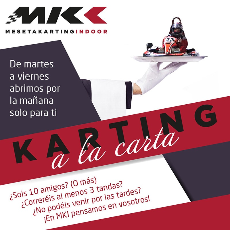 karting a la carta Valladolid