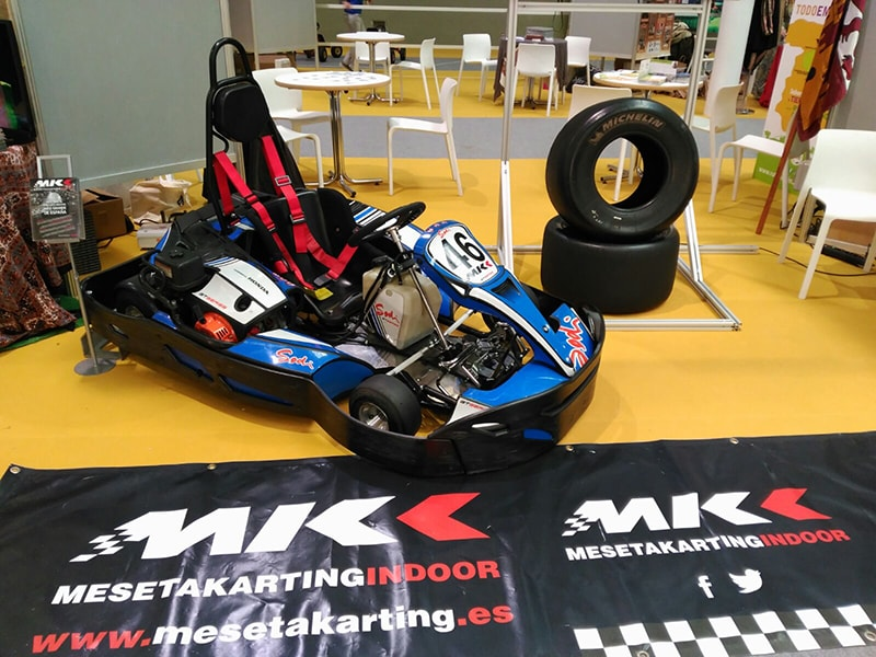 meseta karting indoor Valladolid intur