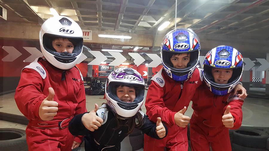 cumpleaños niños Valladolid karting