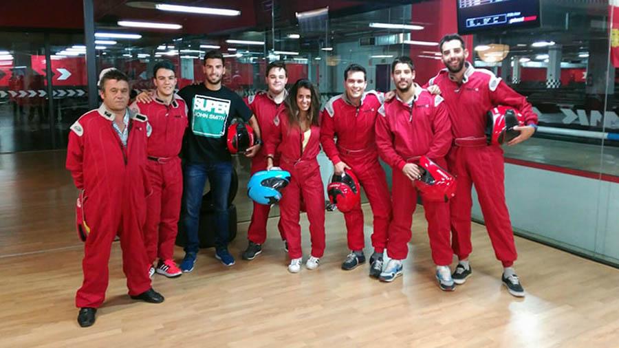 Cumpleaños adultos Valladolid karting