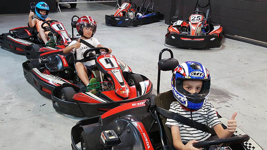 cumples infantiles Valladolid karting