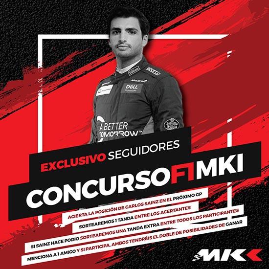 Concurso F1 MKI 19 web tanda gratis